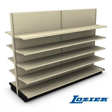 "54"" High Lozier Gondola Shelving - Add On"