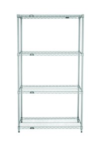 "18"" Deep Wire Shelving Units"